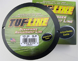 tuf line downrigger replacement line