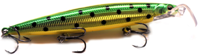 strike scooter minnow head